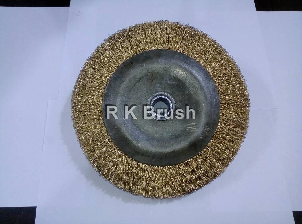 Hard wire Buffing Brush