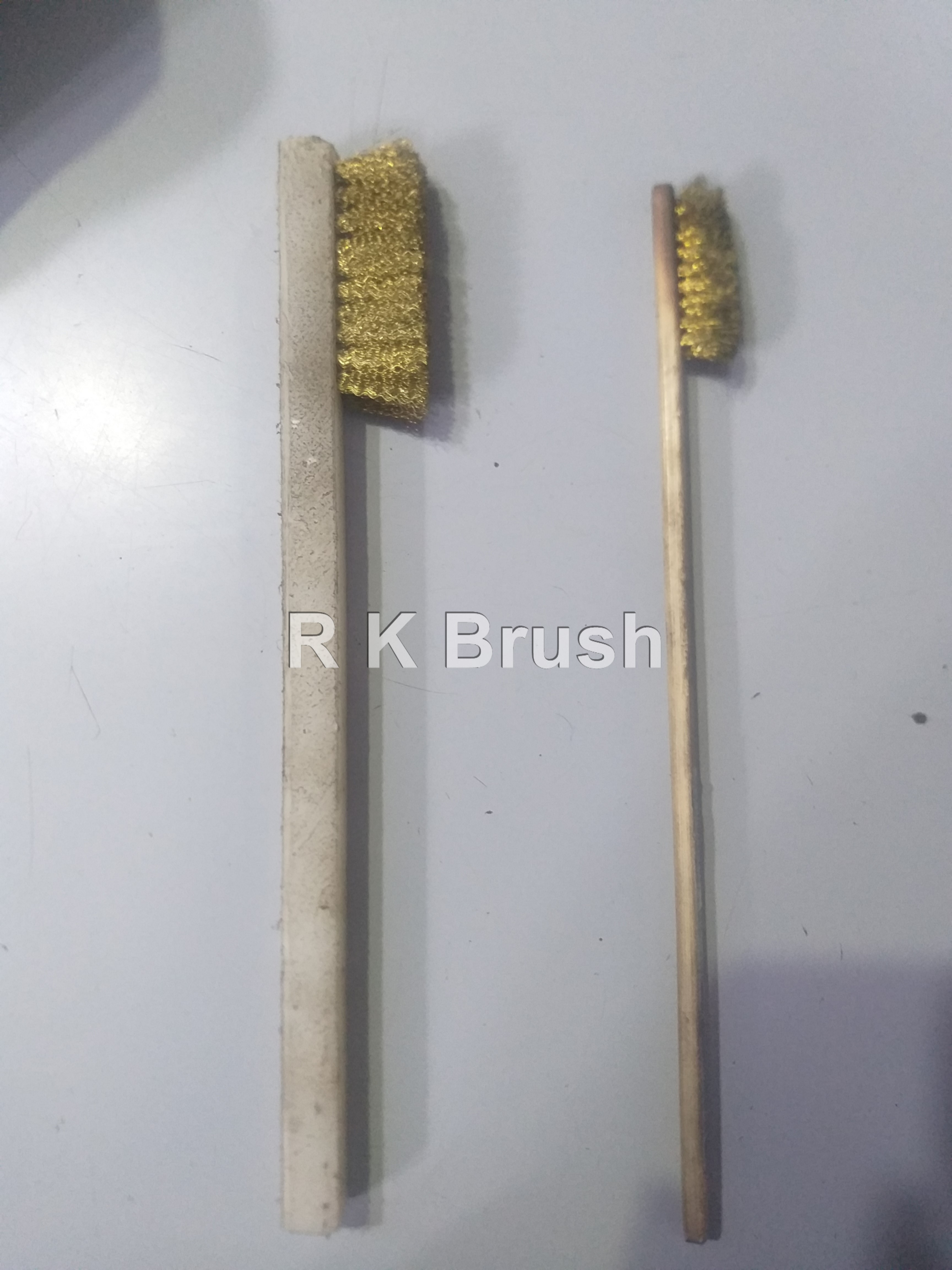Mini Brass and Steel Wire handle Brush