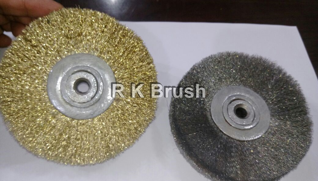 Soft Wire Buffing Brush