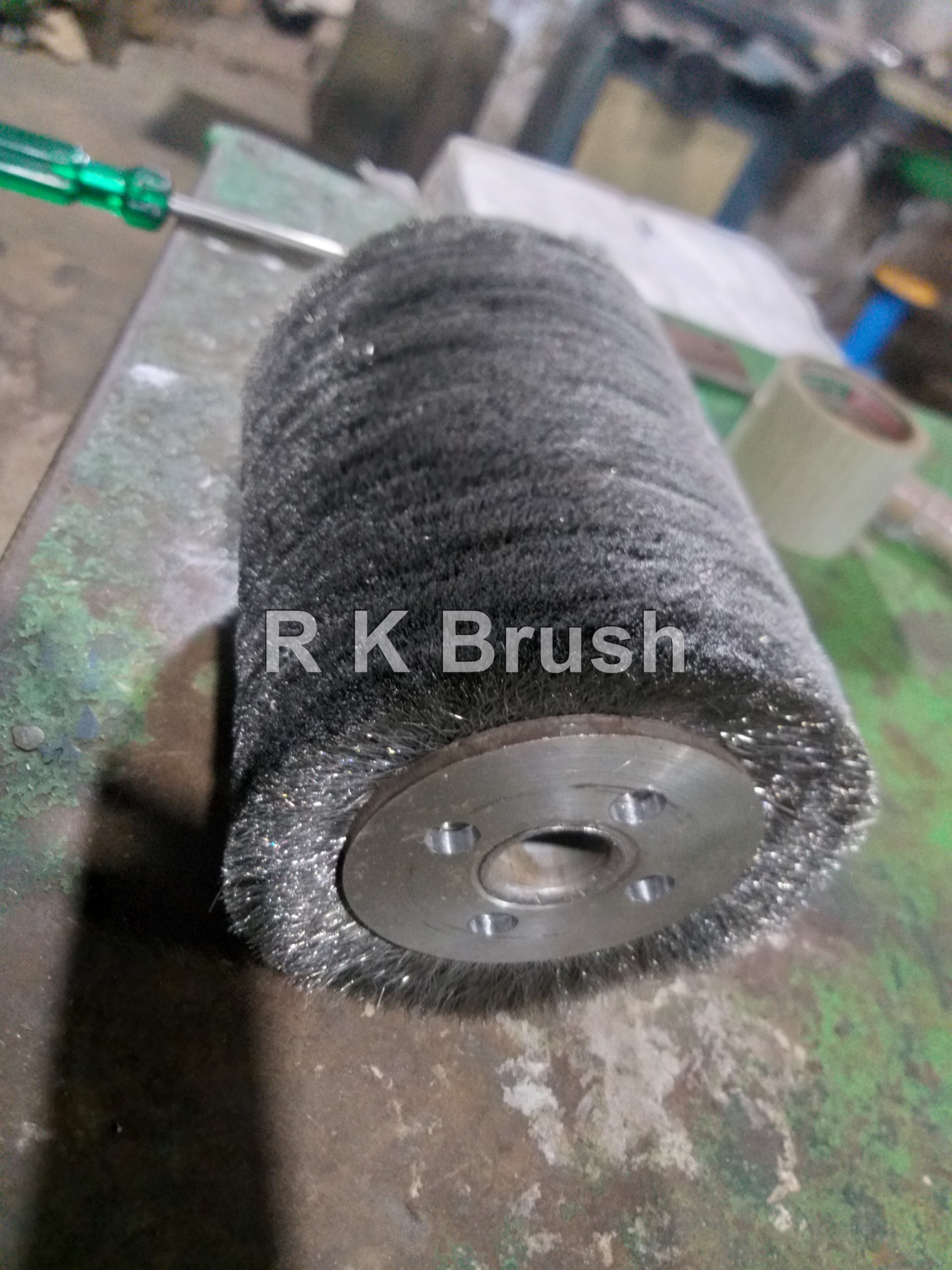 Stainless Steel Wire Roller Brush
