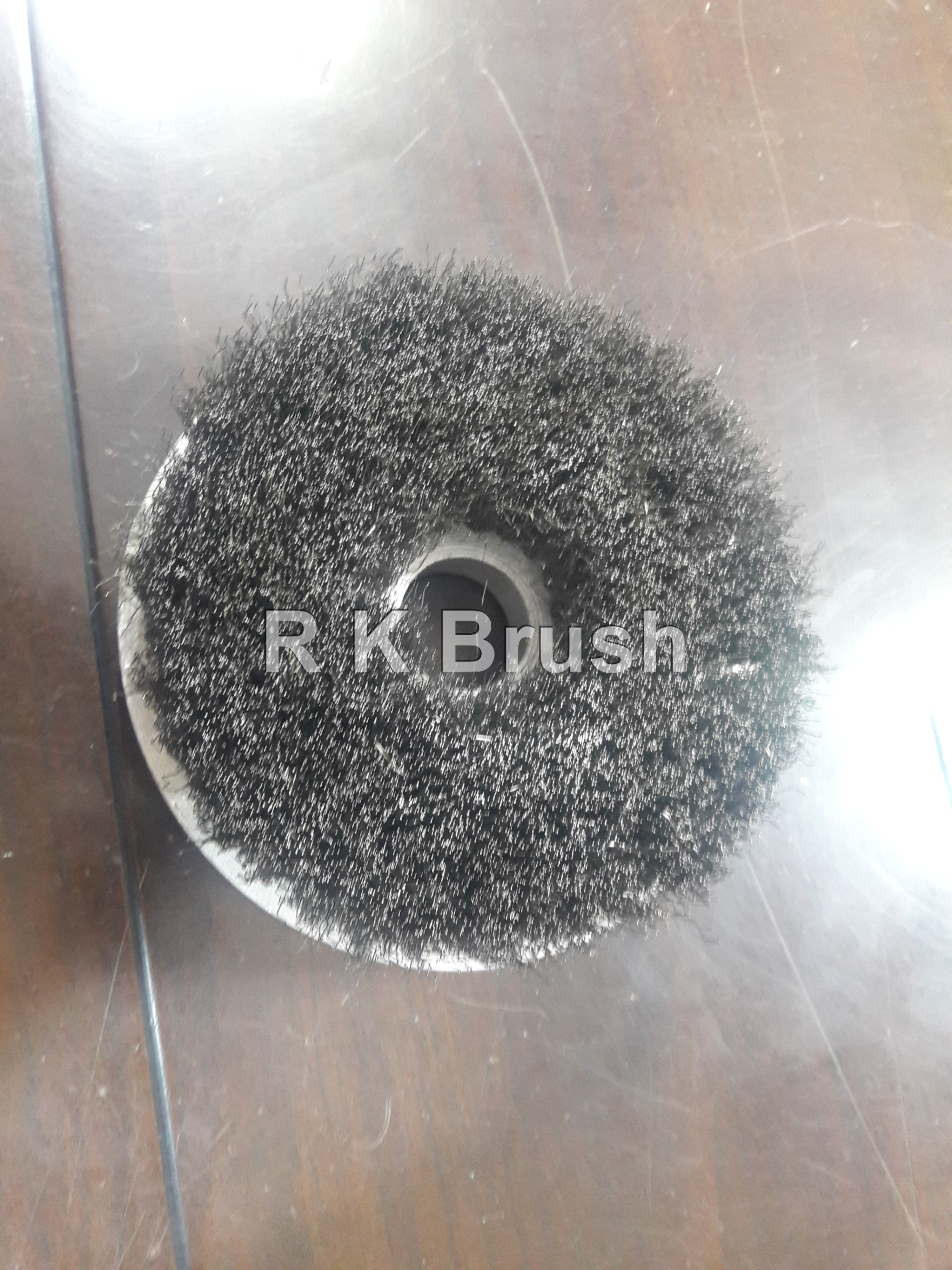 SS wire Disc Brush